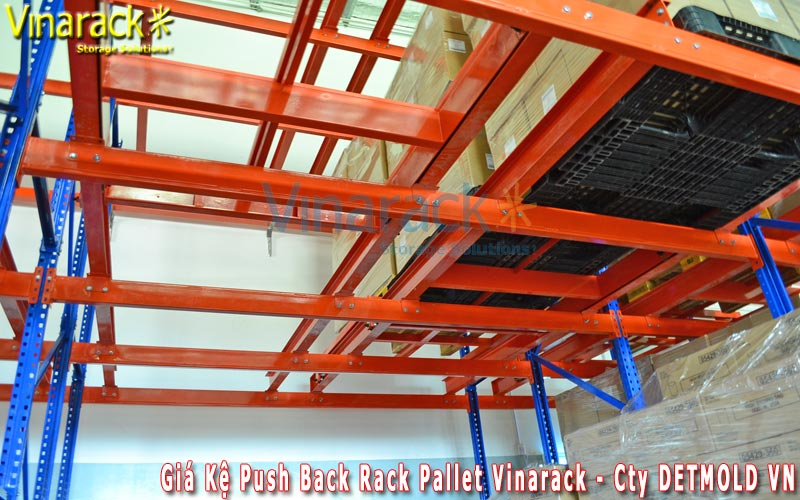 êệ push back rack Vinarack