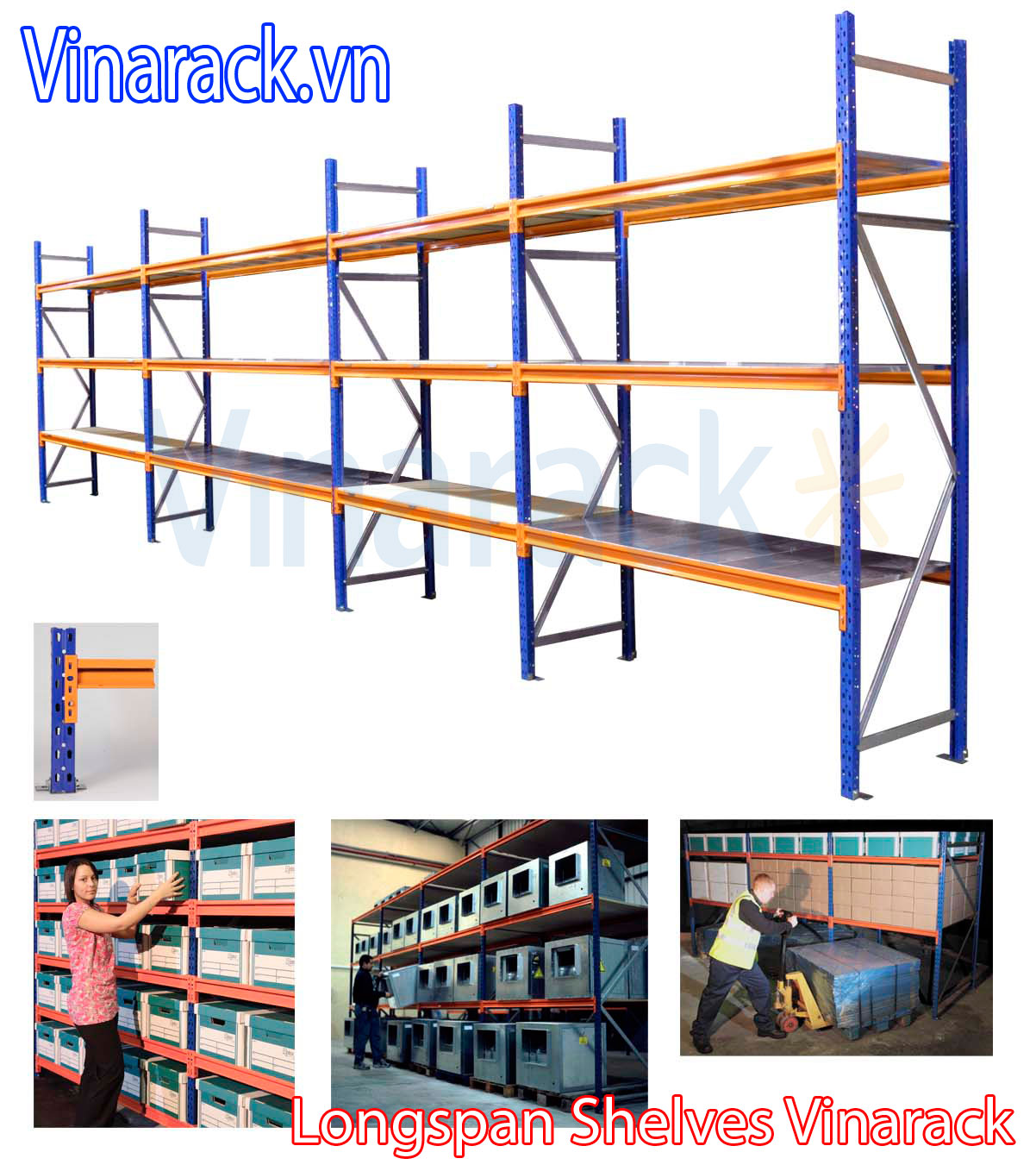 standard warehouse racking dimensions