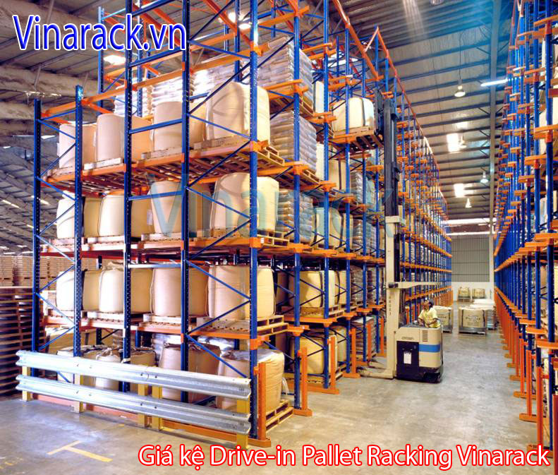 Warehouse racking design Drive-in pallet
